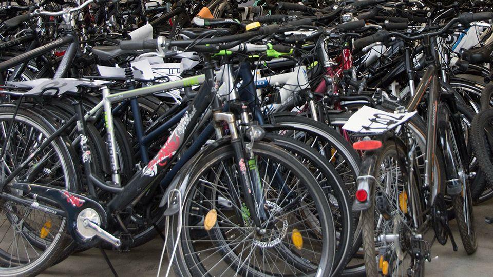 Aufgefundene Fahrräder